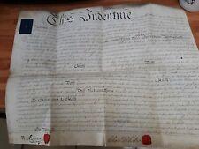 Vellum indenture IRELAND *rare* 1791