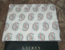 RALPH LAUREN Twin FLAT Sheet ANTIGUA PAISLEY new