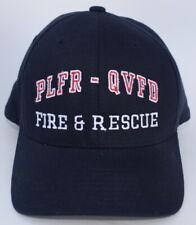 PLFR-QVFD FIRE & RESCUE Port Ludlow WA Size L-XL FLEXFIT Baseball Cap Hat
