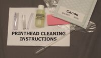 Canon QY6-0077, QY6 0077, QY60077 Printhead Cleaning Kit (Everything Incl.)5257C