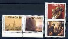 CANADA - 1980 - Centenario della Reale Accademia delle arti con angolo di foglio