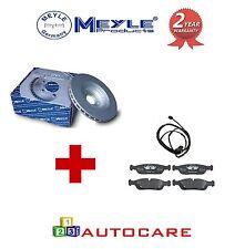 MEYLE-BMW 330D 330Ci Delantero Meyle Platino Discos De Freno Pastillas De Freno Y Sensores