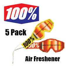 Ride 100% Percent Goggles - Scented Air Car Freshener - 5 Pack - 70999-003-20