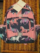 New Girl Pottery Barn Kids Horse Pony Backpack Small