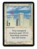 Castle - ALPHA Edition - Old School - MTG Magic The Gathering