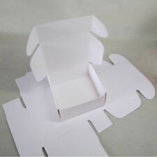 100x White Paper Favour Boxes Party Baby Shower Gift Product Packing 7.5x7.5x3cm