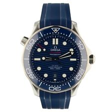 Omega Seamaster Diver 300M 42 mm Blue Rubber Watch 210.32.42.20.03.001 2020