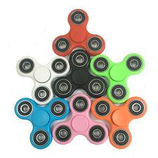 100PCS Aluminum Hand Spinner Tri Fidget Finger Fingertip Gyro Desk Toy EDC Toys