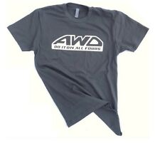 AWD do it on all fours racing car tee mens medium tshirt