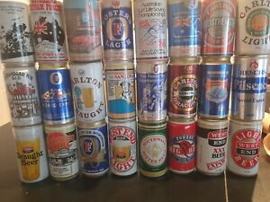 Vintage Beer Can Collection 24