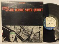 Horace Silver Finger Poppin With VG+ BLUE NOTE LIBERTY 84008 Blue Mitchell