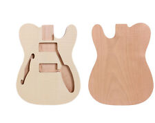 Unfinished Guitar Body For Tele Electric Guitar One piece wood Guitar Parts