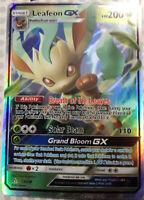 Pokemon card Leafeon GX 13/138 HOLO Ultra Prism PROXY CARD