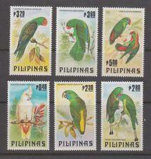 Philippine Stamps 1984 Philippine Parrots Complete set MNH