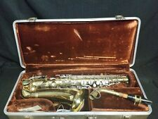 Buescher Aristocrat Saxophone Vintage Early 70's (1970 -1975) With Case