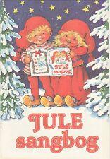 New Scandinavian Danish Christmas Song Book Jule Sangbog 3 Wooden Red Hearts
