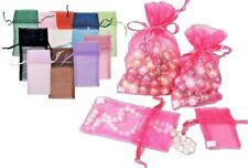 "Lot 36 ORGANZA WEDDING PARTY FAVOR GIFT BAGS CANDY SHEER BAGS JEWELRY BAGS 3""x4"""