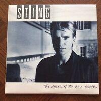 STING The Dream Of The Blue Turtles Vinyl LP1985 A&M DREAM1 Pressing A1/B2