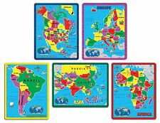 A Broader View Continent Puzzle Combo Pack (abw-659) (abw659)