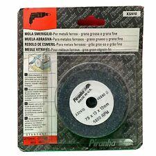 Piranha X32410 75mm Zigrinato E Fine Smerigliatura Ruota 46G &