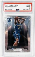 2012 Anthony Davis Panini Prizm RC Rookie Card #236 PSA 9 MINT Lakers 🔥📈