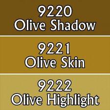 Reaper Master Series Acrylic Paint Triad 09774 Olive Skintones