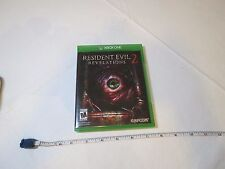 Resident Evil Revelations 2 (Microsoft Xbox One, 2015) Adult owned video game