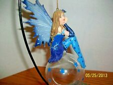Mystic Creations Midnight Wonder Fairy Ceramic Fairy with stand in Box.
