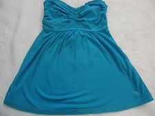 ABERCROMBIE & FITCH LADIES TOP SIZE 8 BRIGHT TURQUOISE