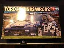 TAMIYA 1/24 Ford Focus RS WRC 02 Performance Blue Model Kit 24261