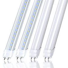 T8 4FT LED Tube Light Bulbs 22W G13 Bi-Pin 2400LM 4000K/5000K/6500K Shop Lights