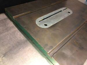 "Powermatic Model 66 Table Saw Cast Iron Table 28""x21.5x1.5"""