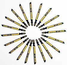 20 x Black & Decker HCS Wood Cutting T-Shank Jigsaw Blades 101-3 Swiss Made