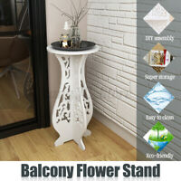 Balcony Floor Standing Room Plant Flower Pot Round Table Stand Display