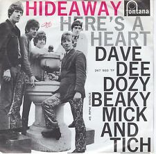 7inch DAVE DEE DOZY BEAKY MICK AND TICH hideaway HOLLAND EX