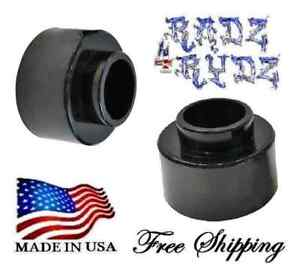 """Expedition Suburban Tahoe Yukon Escalade 2.5"""" Rear Coil Spring Spacers Lift Kit"""