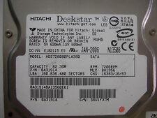 Hitachi Deskstar 80gb HDS728080PLA380 F 0A30363 01