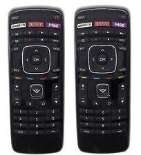 """2Pcs VIZIO XRT112 LED SMART INTERNET APPS TV REMOTE CONTROL FOR VIZIO 32""""~55"""" TV"""