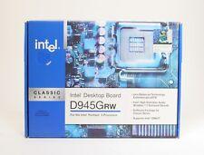 Intel D945GRW Socket LGA775 Pentium 4 Classic Series Motherboard ; UNT 624674