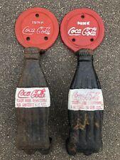 2 Vintage Style Coca-Cola Door Handle Set Cast Iron New