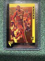 2019-20 Chronicles Flux RJ Barrett Silver Prizm Rookie Card RC #581 Knicks