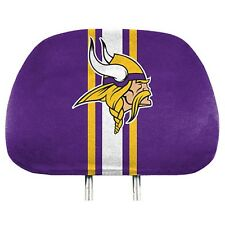 Minnesota Vikings Printed Head Rest Covers