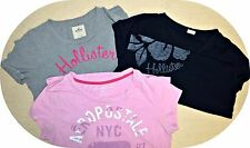 SALE Lot Of 3 Jr Aeropostale & Hollister T-Shirts Sz L