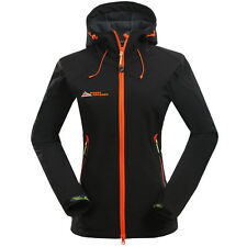 New Women Soft Shell Outdoor Jacket Ladies Waterproof Sports SoftShell Jacket