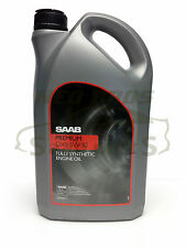 GENUINE SAAB PREMIUM DX2 5W-30 FULLY SYNTHETIC ENGINE OIL, 5 LITRES, 93165557