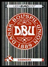 Panini Euro 2012 (Swiss Platinum Edition) Badge (Denmark) No. 195