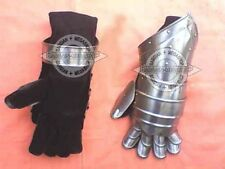 Knight Armor Costume Adult Mens Medieval Renaissance New Steel Gauntlet Gloves