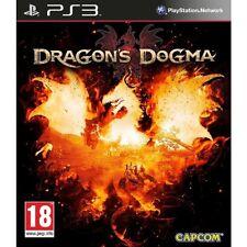 Ps3 Dragon 's Dragons Dogma gioco per Playstation 3 NUOVO