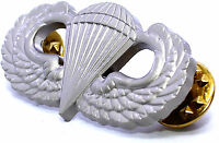 """US ARMY Paratrooper Airborne Parachutist Jump Wings Wing Badge Lapel Pin 1 1/2"""""""
