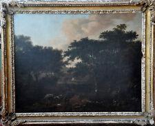 OLD MASTER DUTCH JAN WIJNANTS LANDSCAPE HORSES OIL PAINTING ART HUGE 1635-